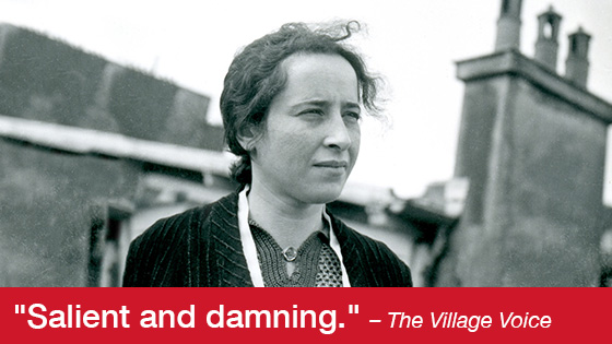Image from Vita Activa: The Spirit of Hannah Arendt