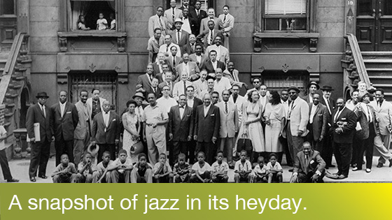 Image from Music on Film: A Great Day in Harlem