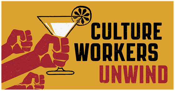 Image from Culture Workers Unwind: September event