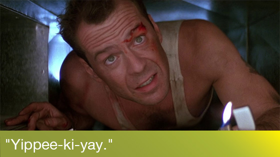 Image from Die Hard Quote-Along