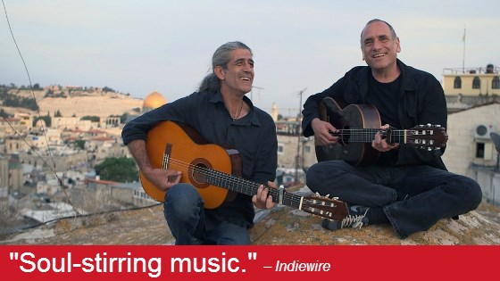 Image from Music on Film: East Jerusalem West Jerusalem