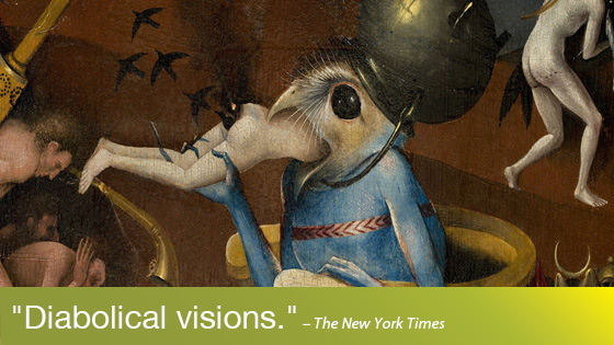 Image from Hieronymus Bosch, Touched by the Devil
