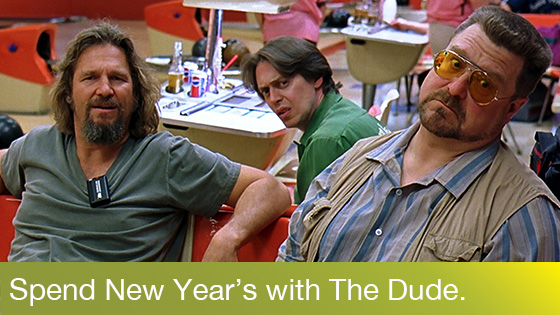 Image from The Dude's New Year's: The Big Lebowski