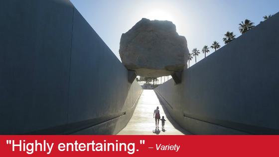 Image from Levitated Mass