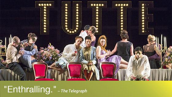 Image from Opera on Screen: Cosi Fan Tutte