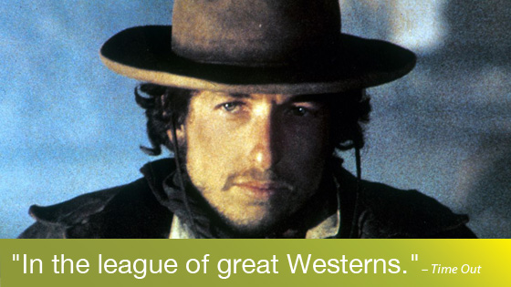 Image from Bob Dylan on Screen: Pat Garrett & Billy the Kid