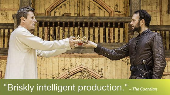Image from Shakespeare's Globe on Screen: Richard II