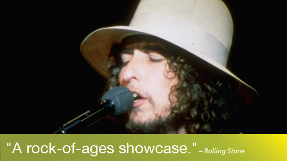 Image from Bob Dylan on Screen: The Last Waltz