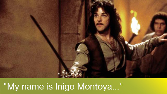 Image from The Princess Bride Quote-Along