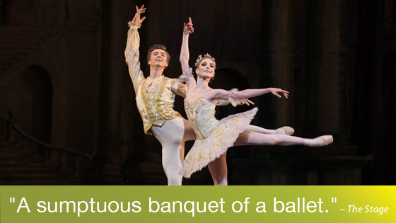 Image from Ballet on Screen: The Sleeping Beauty