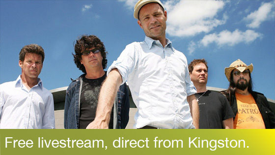 Image from CBC and The Tragically Hip present 'The Tragically Hip: A National Celebration'