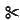 Scissors emoji