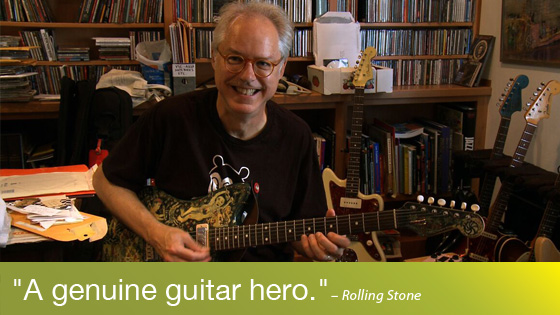 Image from Bill Frisell, A Portrait