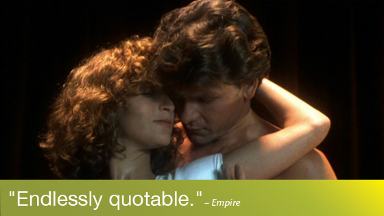 Image from Like Totally 80s: Dirty Dancing Quote-along