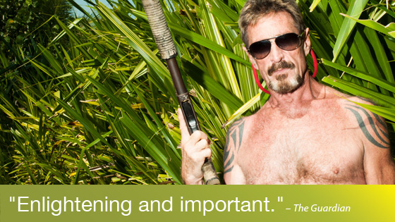 Image from True Crime Tuesdays: Gringo: The Dangerous Life of John McAfee