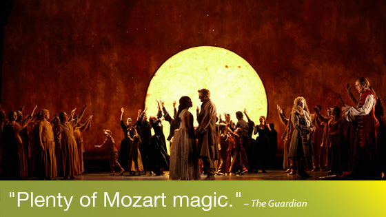 Image from Performance on Screen: The Magic Flute