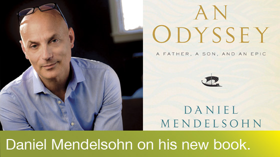 Image from Author Event: The New Yorker's Daniel Mendelsohn presents An Odyssey