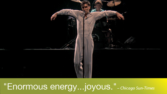 Image from The Documentaries of Demme (+1): Stop Making Sense