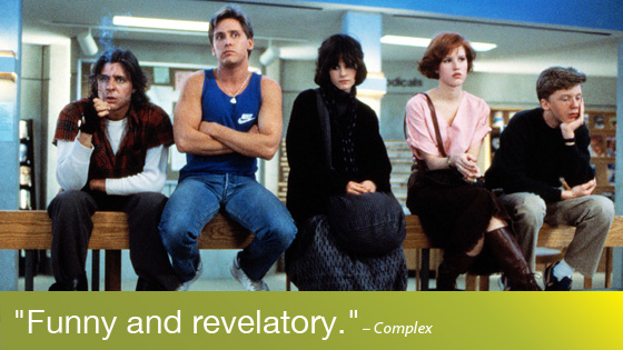 Image from Like Totally 80s: The Breakfast Club Quote-along